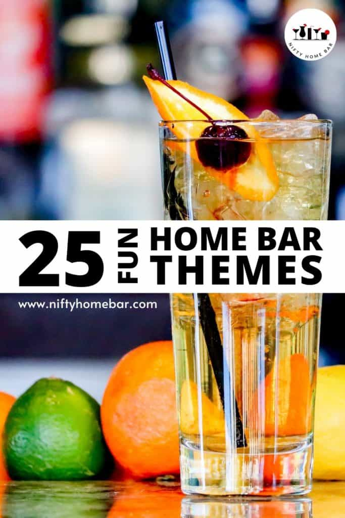 Have a basement home bar, and not sure how to decorate it? Check out our list of fun home bar themes. It's a great place to get your creative juices flowing.