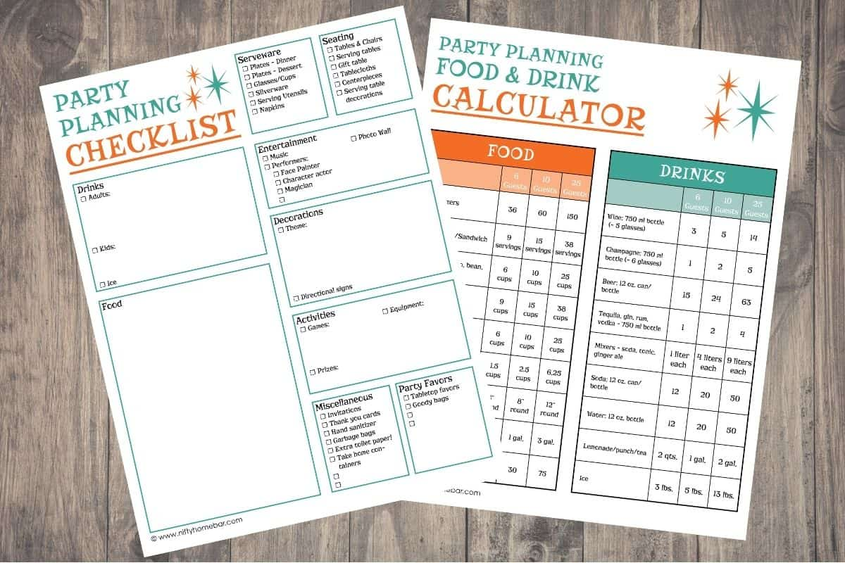 Pretty soon, we'll all be back to hosting get-togethers and parties. This party planning checklist will help you stay on top of everything for the festivities.